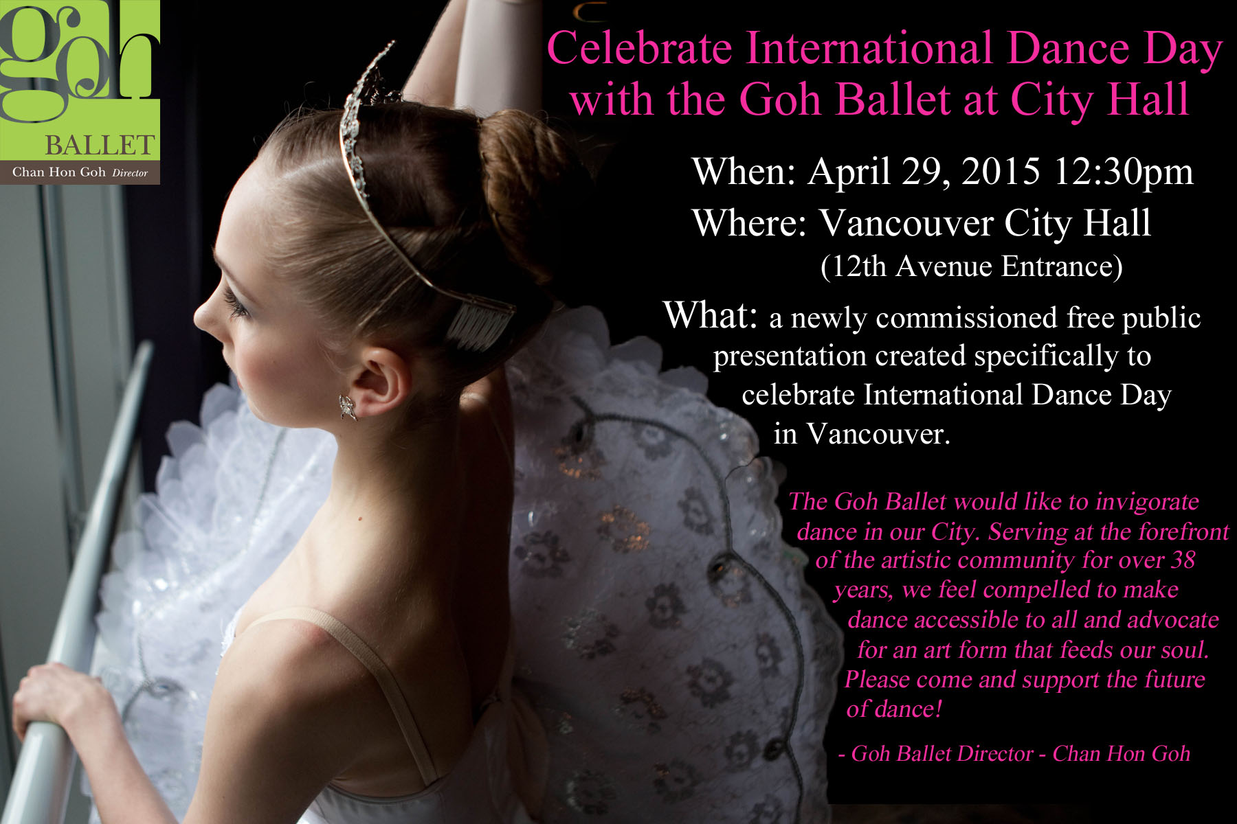 International Dance Day Invitation