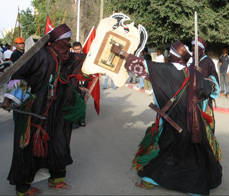TOUAREGH DANCE .Region TamarassetEast South Algeria