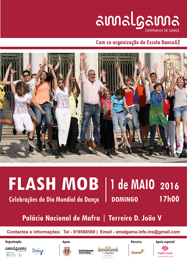 cartaz flash mob 900