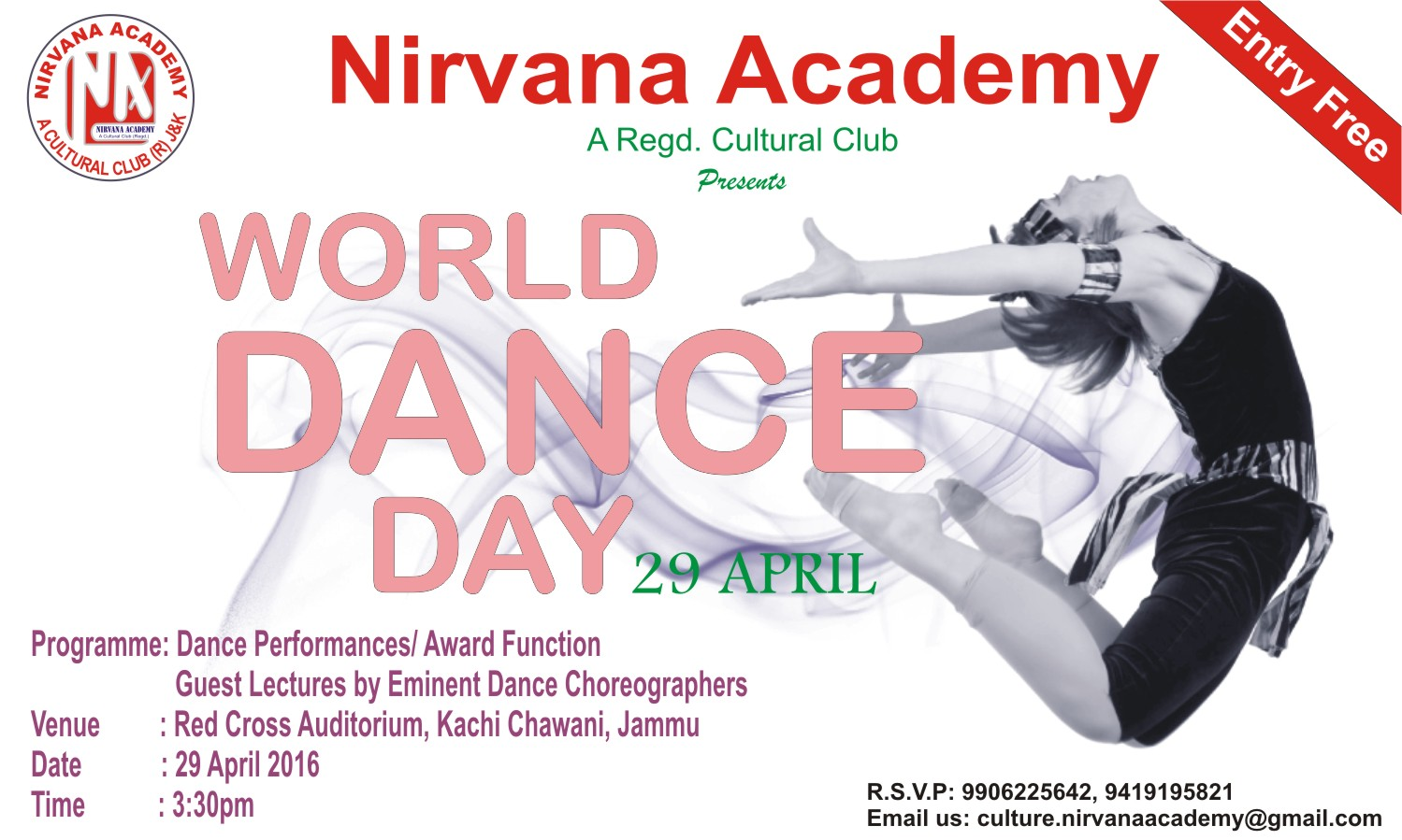 invitation dance day