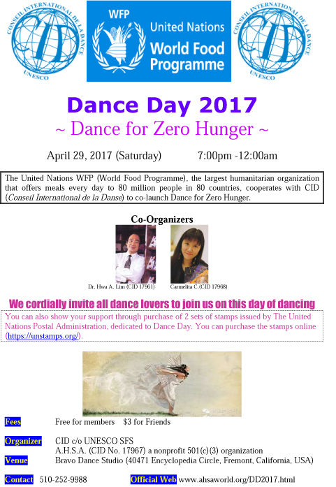 International Dance DayCA2017